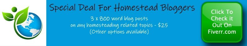 Homestead Blogger Special Deal