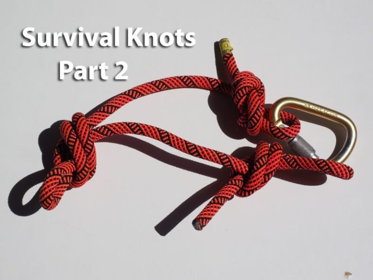 Survival Knot Series – Part 2 – Sheet Bend