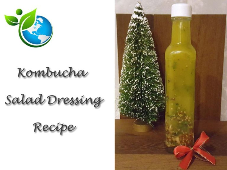 How To Make An Easy Kombucha Salad Dressing