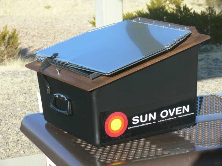 Solar Cooking – The All American Sun Oven