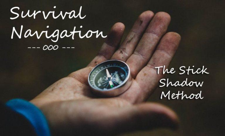 Survival Navigation – Stick Shadow Method