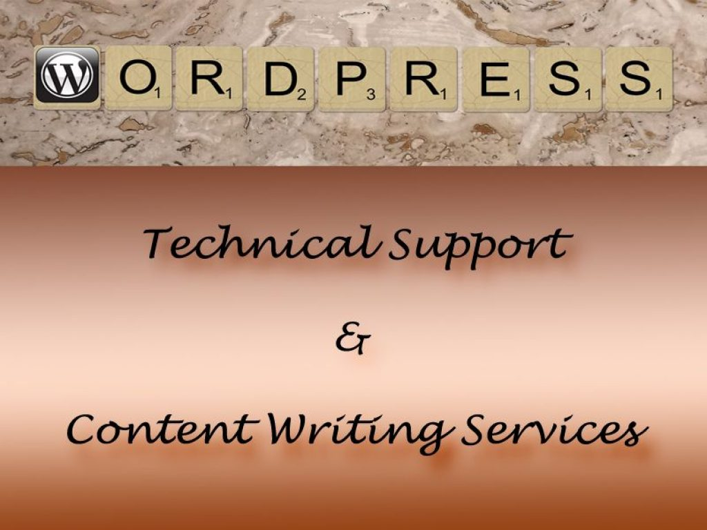 Wordpress Support Services