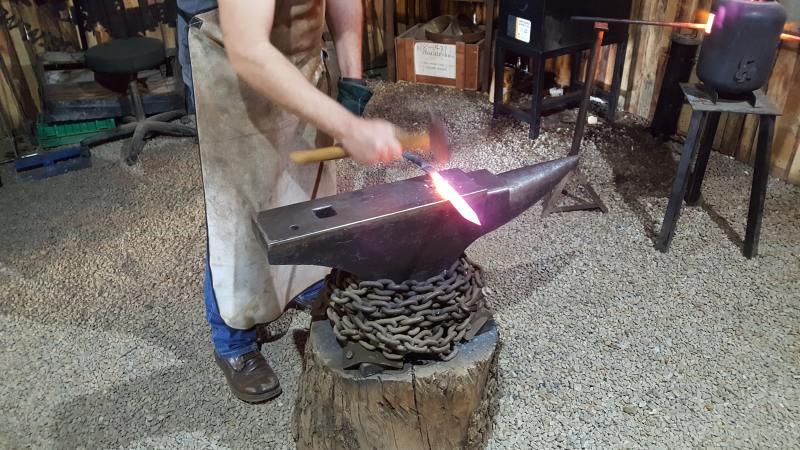 Upskill Yourself Learning Blacksmithing